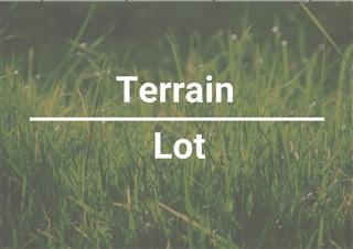 Terrain vacant à vendre, Saint-Lucien