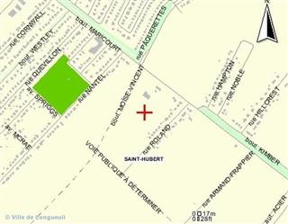 Terrain vacant à vendre, Longueuil